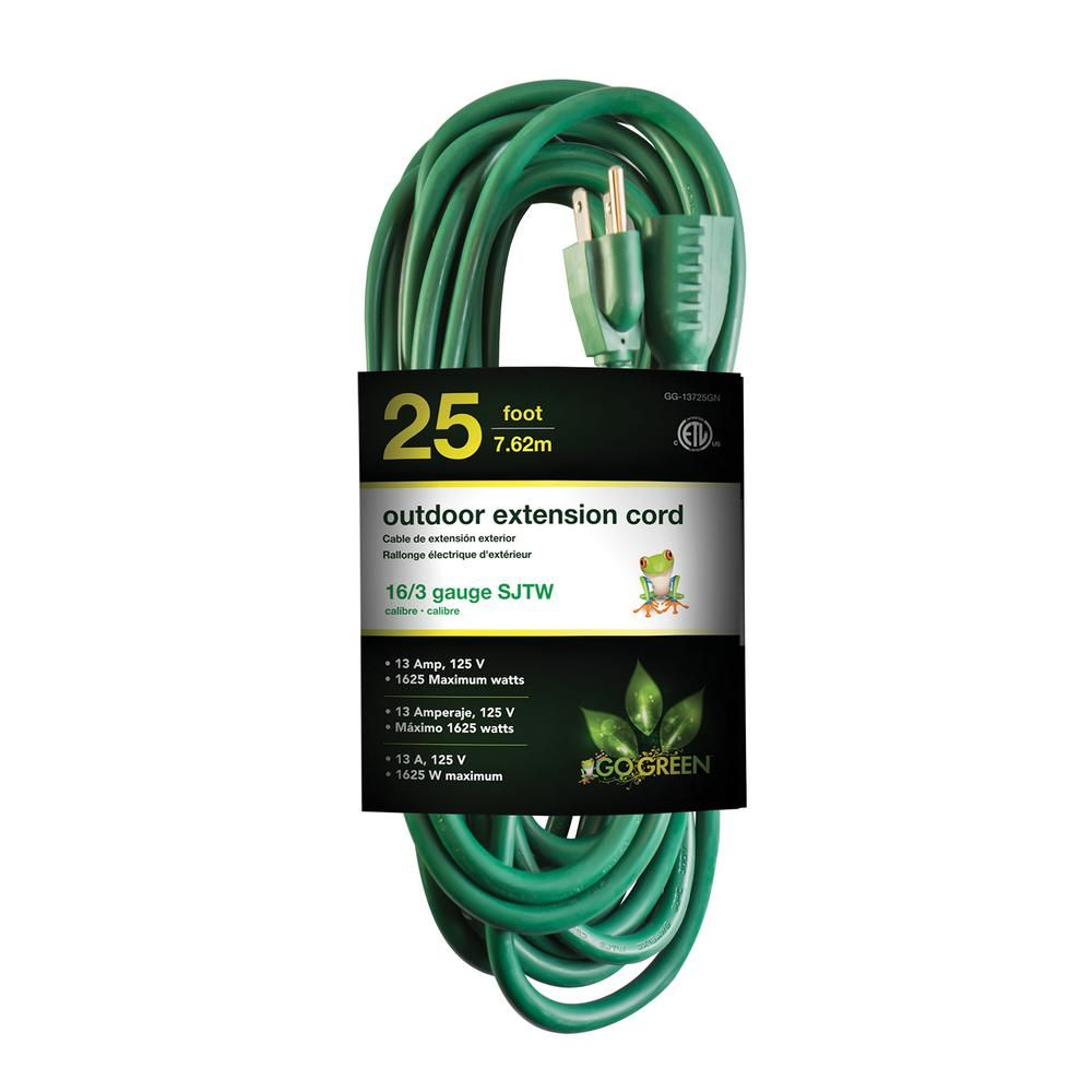 Cut Usb Cable And Sold It Wires On Board Go Green Power 25 Ft 16 3 Heavy Duty Extension Cord