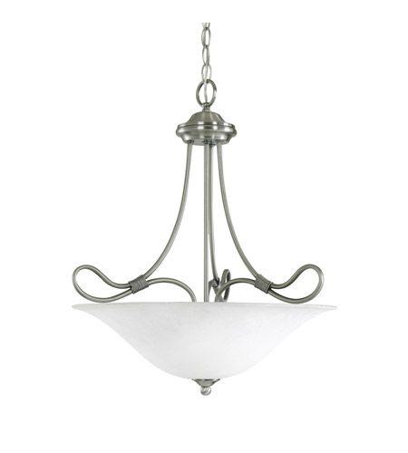 Kichler Lighting Stafford 3 Light Inverted Pendant in Antique Pewter 3356AP #lightingnewyork #lny #lighting STAIRS