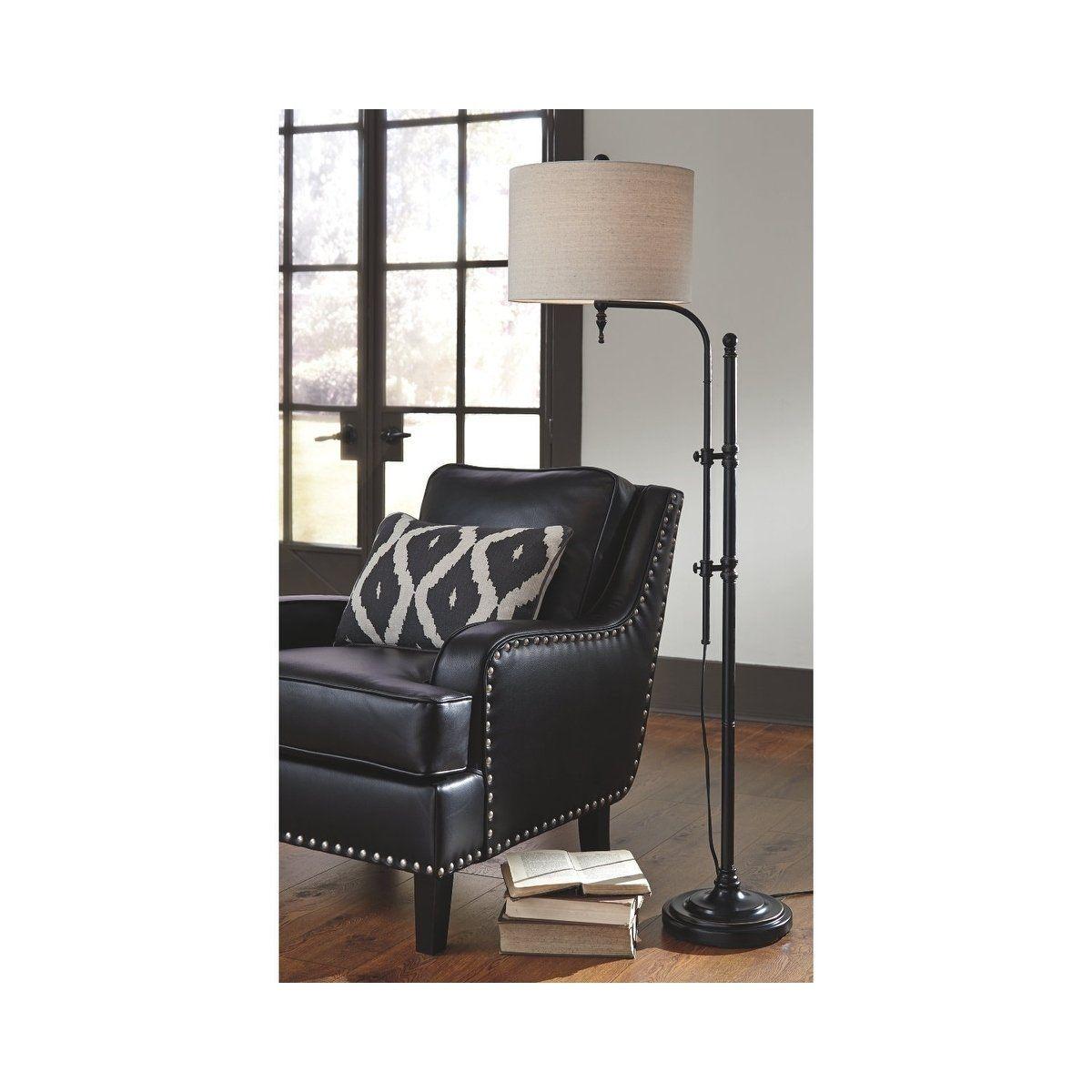 Anemoon Black 65 InchFloor Lamp, Signature Design by