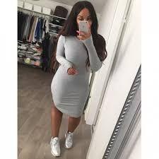 Hermoso Vestidos Para Usar Con Tenis Tenis Con Vestidos