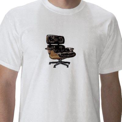 Eames Lounge Chair T Shirts