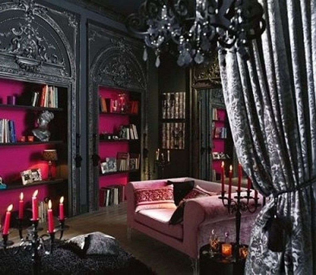 Victorian Red And Black Rooms Red And Black Bedroom