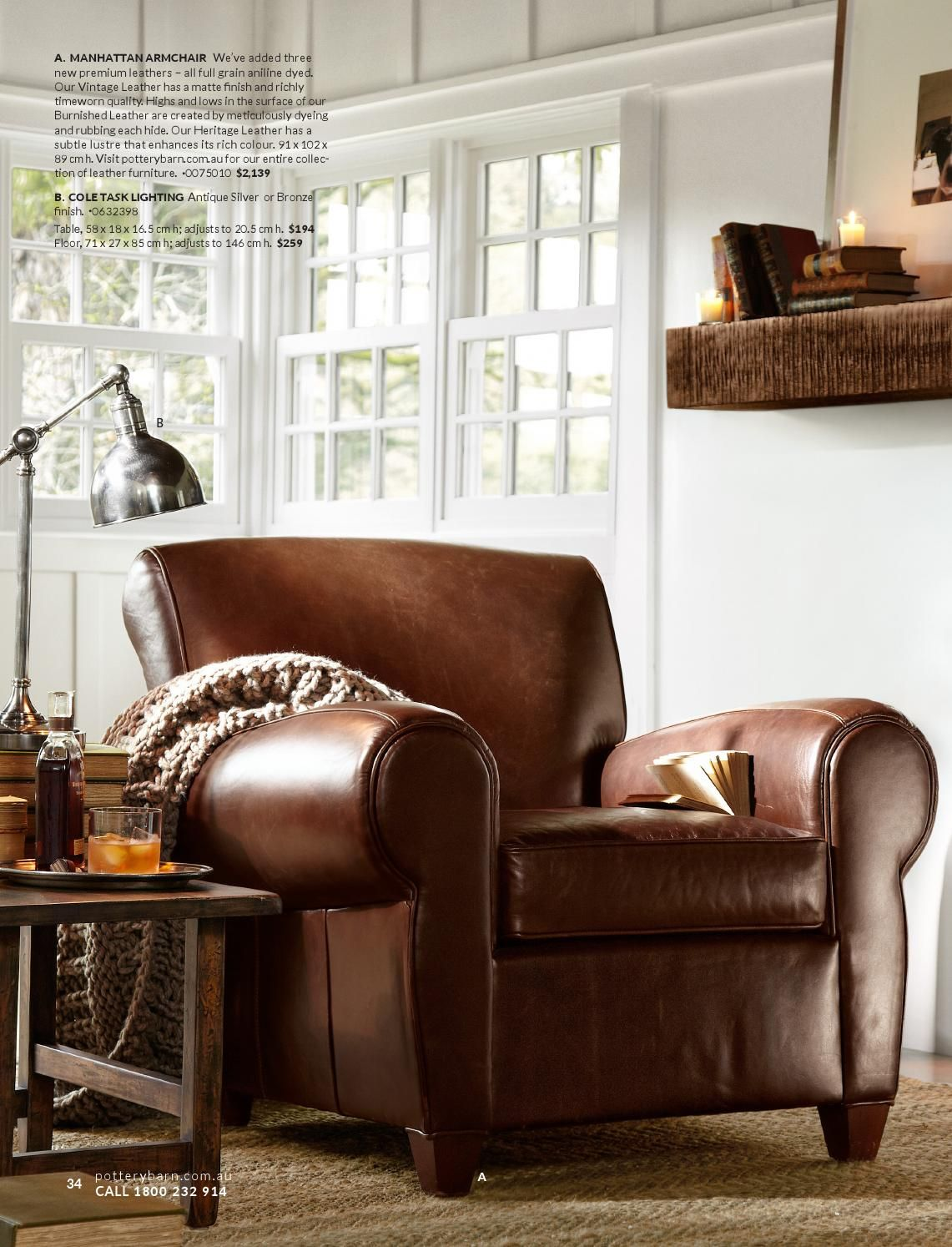 Pottery Barn Australia Home furniture, Club chairs, Home