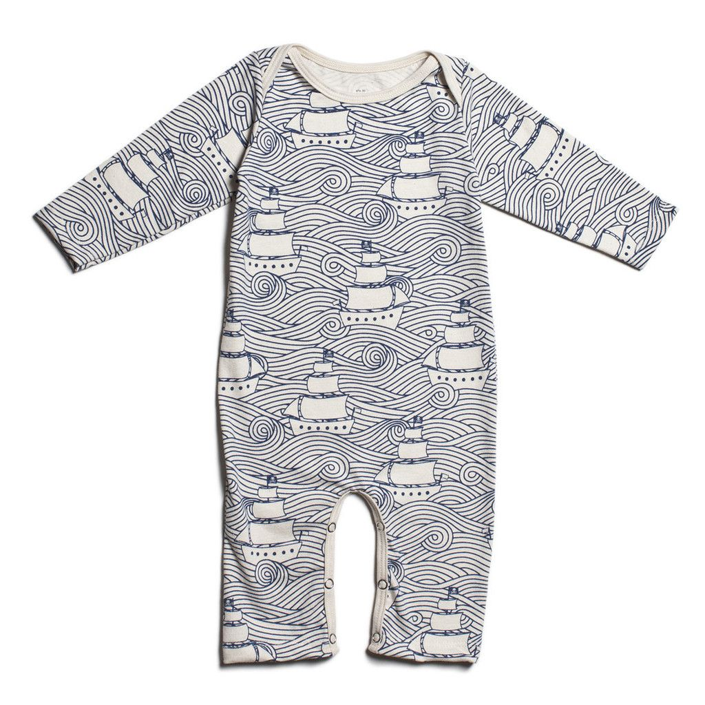 from Texas with Love Baby Boys Organic Cotton Romper Jumpsuit