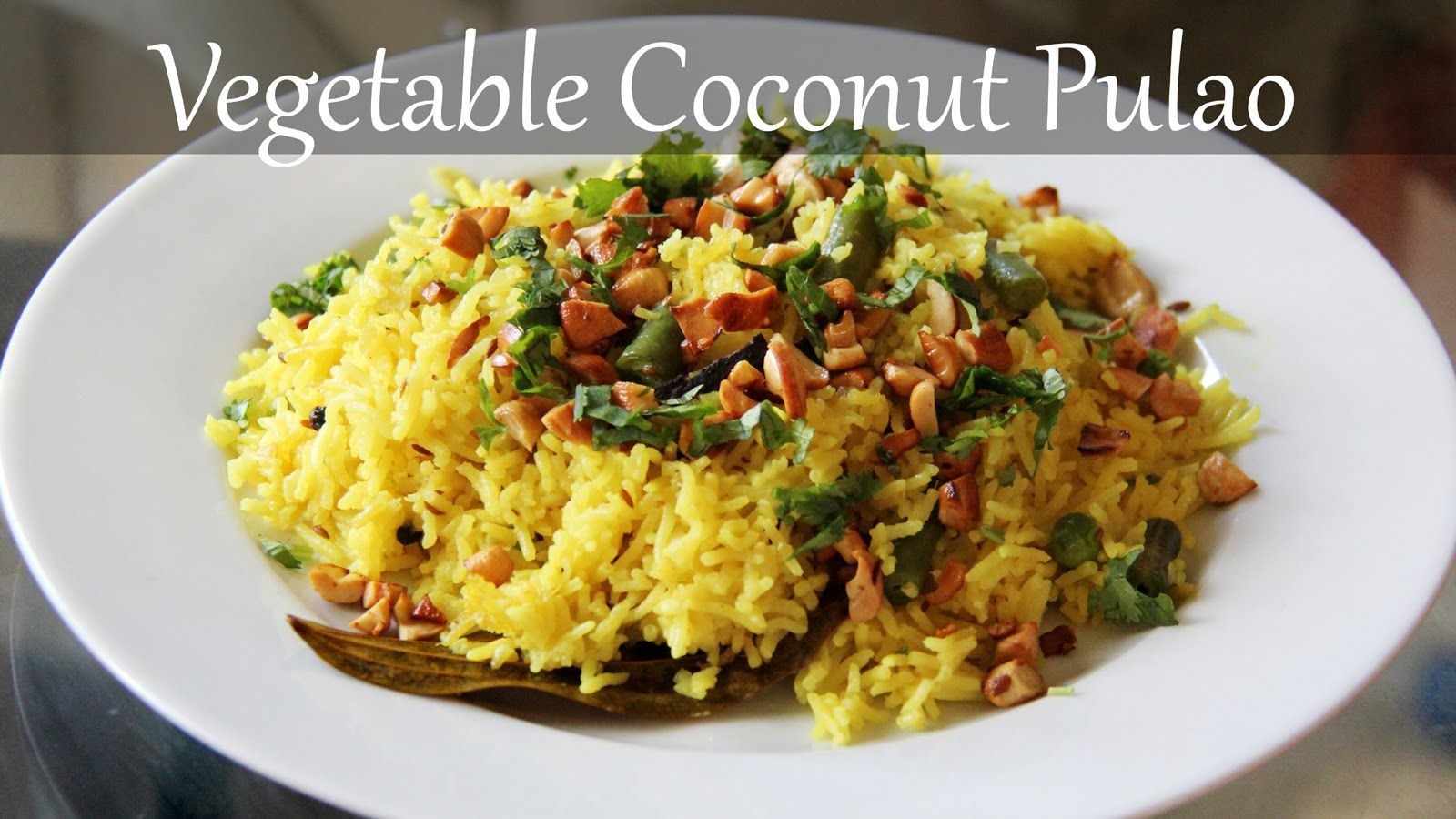 Vegetarian coconut rice recipe quick easy indian lunch dinner forumfinder Image collections
