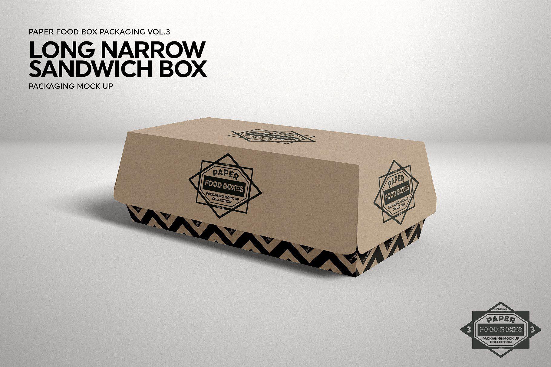 Download Vol 3 Food Box Packaging Mockups