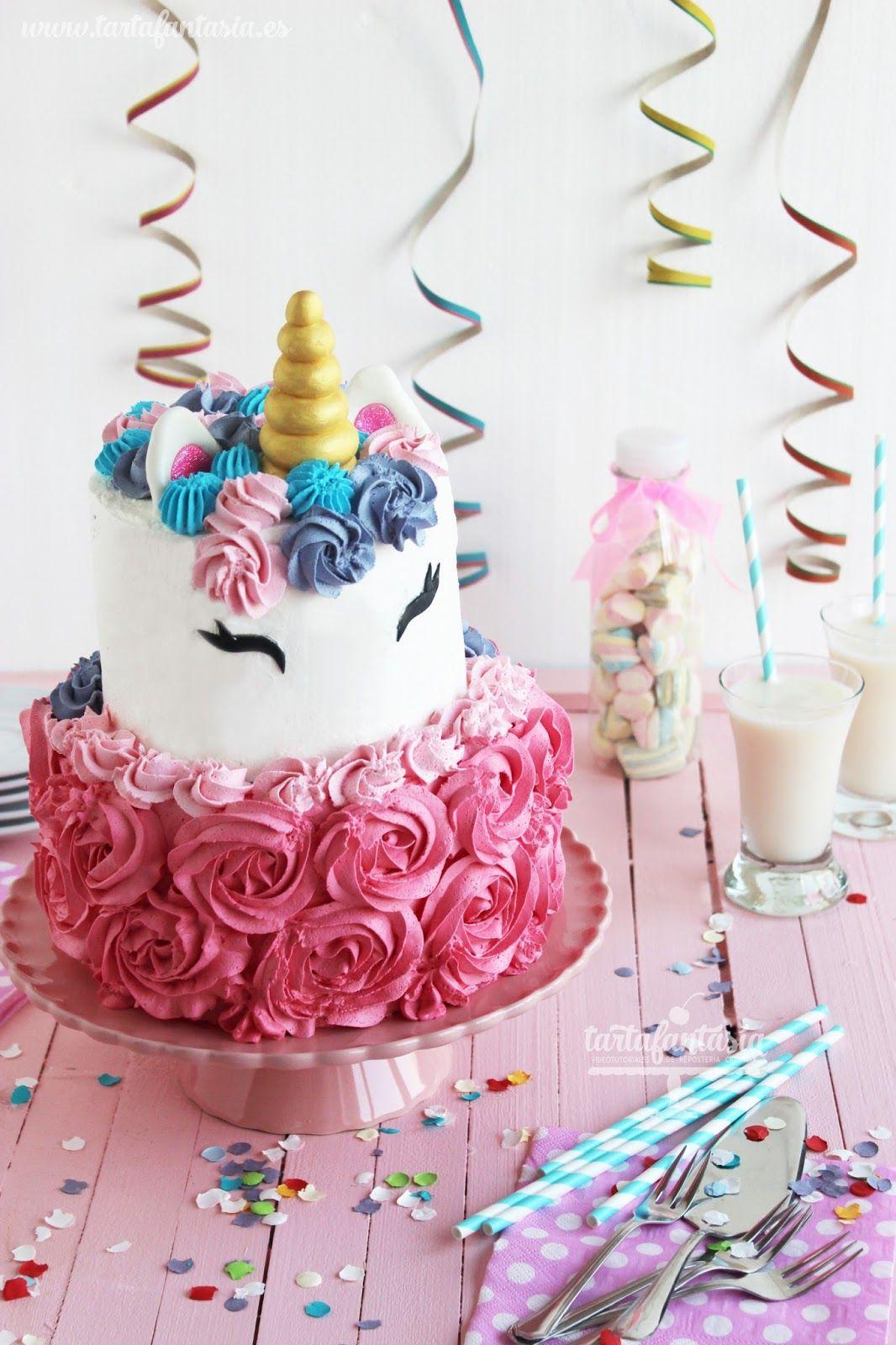 C mo hacer una tarta unicornio detalles para regalar pinterest tartas unicornio unicornio - Ideas fiesta inauguracion piso ...