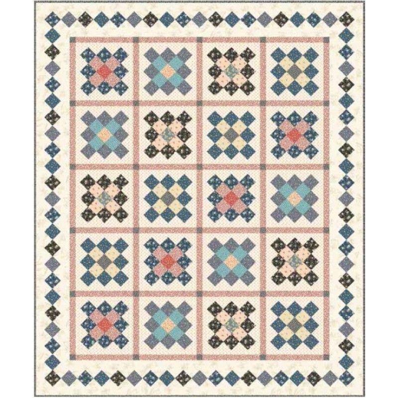 Little House On The Prairie Cabin In The Woods Quilt Kit