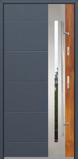 Fargo 26 DUO – stainless steel front door