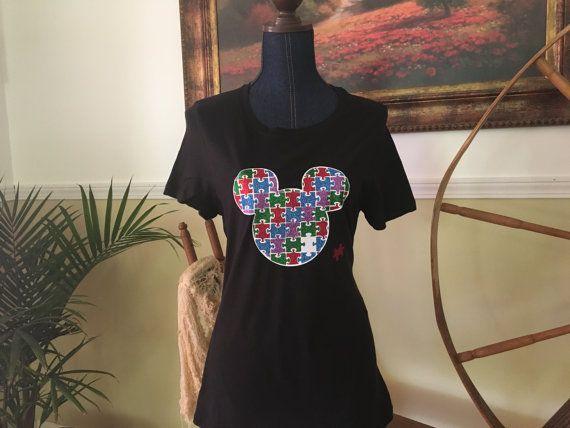 Disney Autism Awareness Shirt Disney Autism by MommasCraftCorner