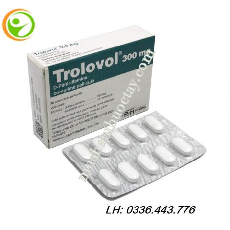 Thuốc Viem Khớp Trolovol 300mg Viem Khớp Chua