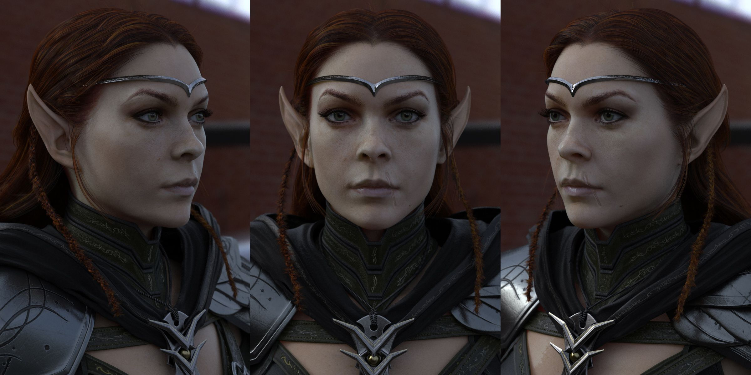 "Elf, ""The Elder Scrolls Online"". Artist: Francisco Cortina http://www.cortinadigital.com"