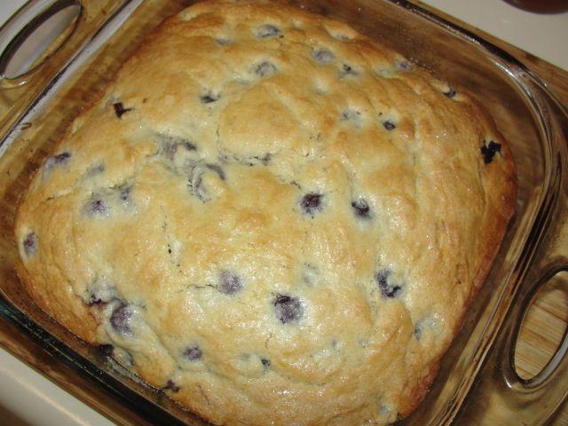 Buttermilk-Blueberry Breakfast Cake - 4 Sons 'R' Us