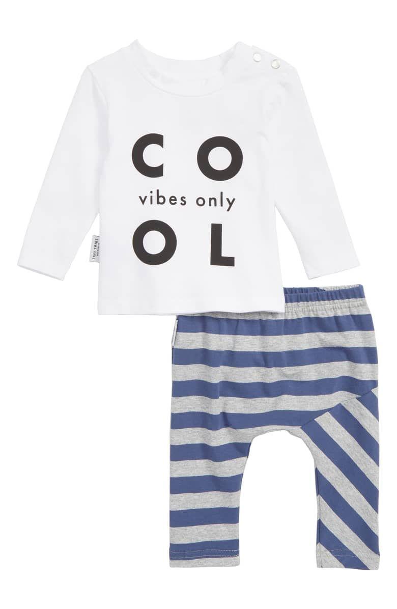 Infant TINY TRIBE Baby Boys Stripe Leggings