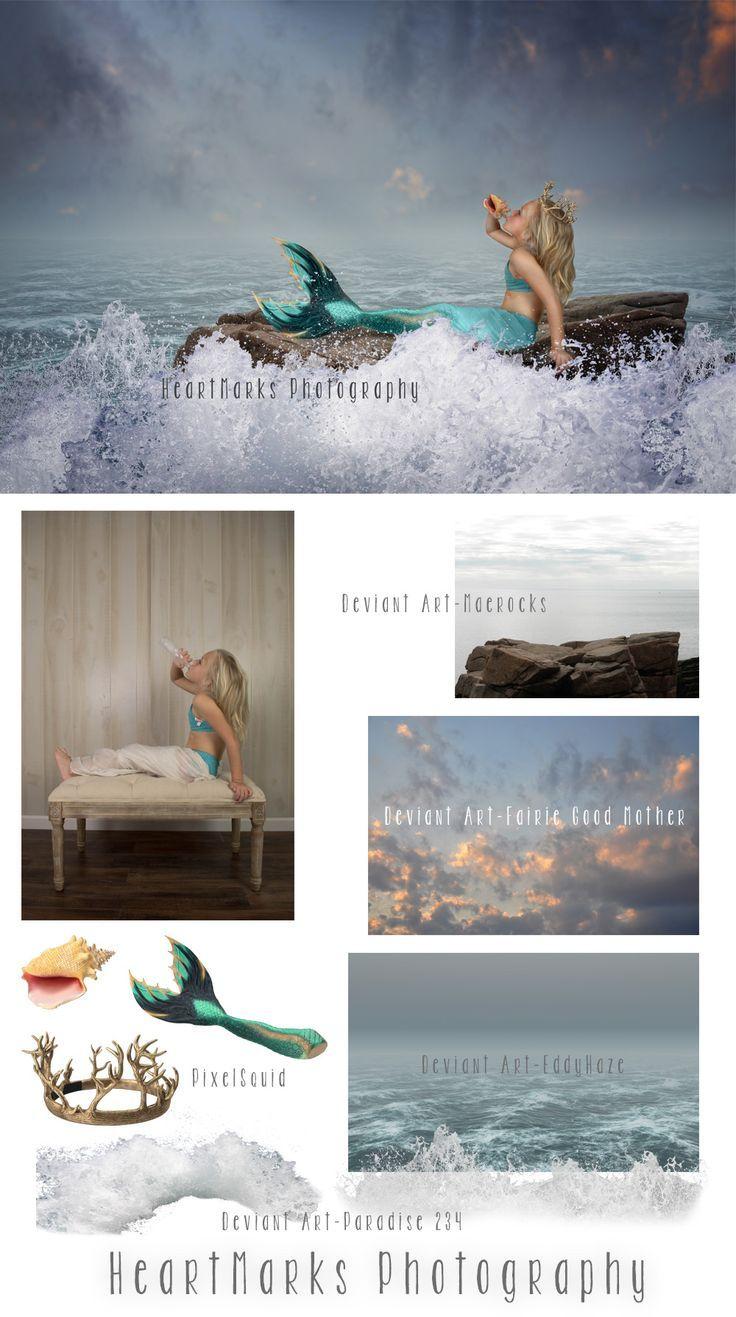 Photoshop Composite Make A Splash Photography Tutorials - Photographer uses photoshop to create surreal dreamy composite images