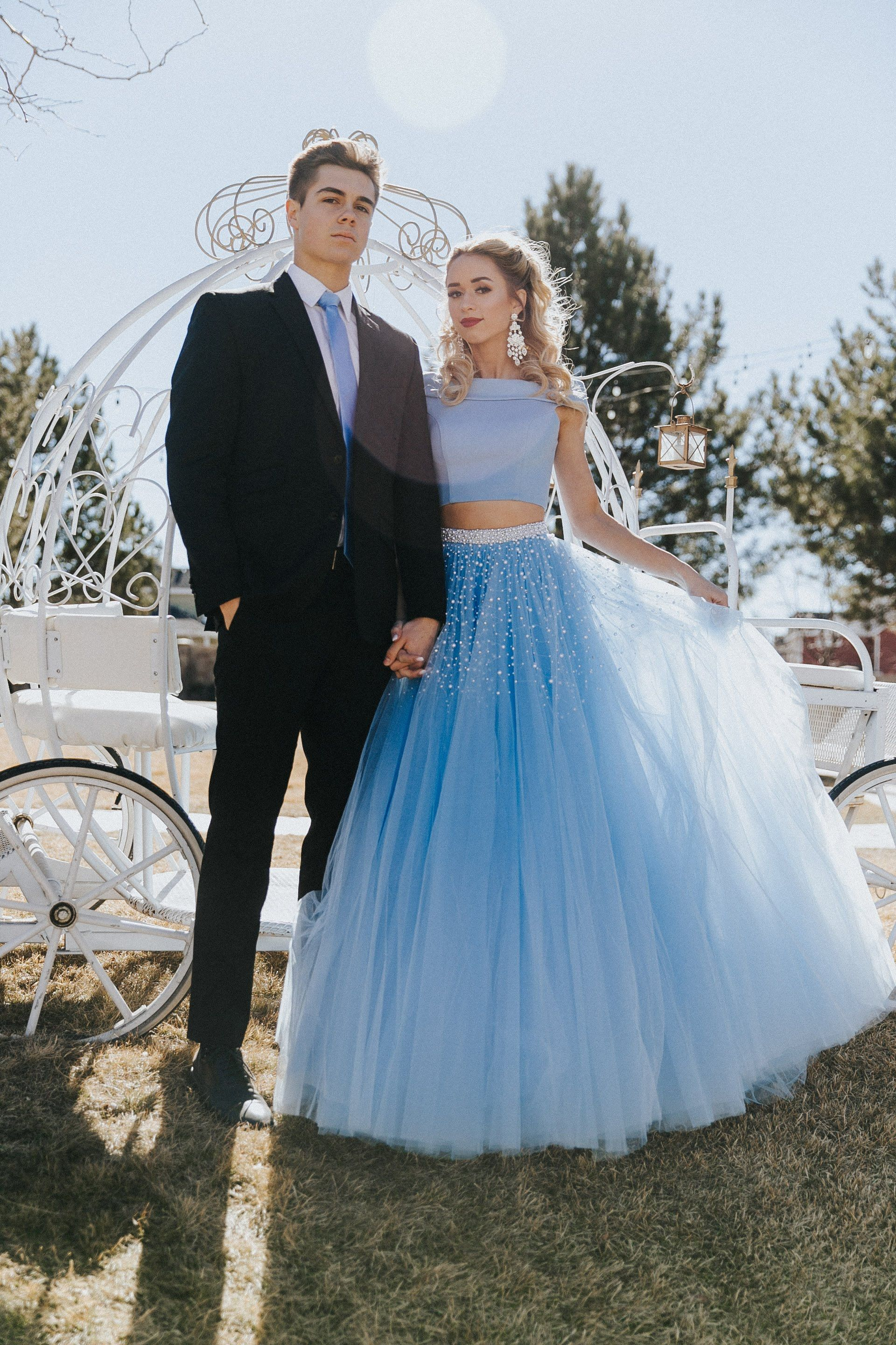 Light Blue 2 Piece Tulle Ballgown Skirt With Pearl Detailing And Beaded Belt Periwinkle Blue Ligh Blue Tulle Prom Dress Prom Dresses Blue Light Blue Prom Dress [ 2880 x 1920 Pixel ]