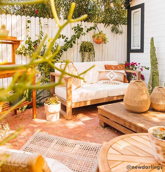 Outdoor Living Guideentertain Celebrateideas Tipsinspiration Patio Decor Inspiration Boho Patio Bohemian Outdoor Spaces