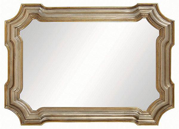 21 Brilliant Bathroom Mirrors White: Conthey Wall Mirror, Silver