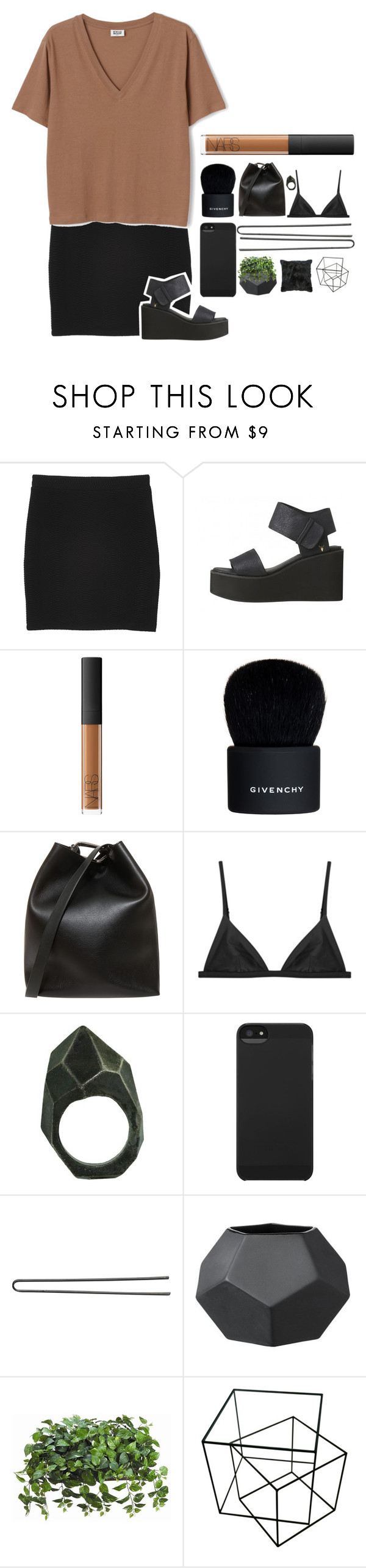 """avery"" by alienxo ❤ liked on Polyvore featuring Monki, NARS Cosmetics, Givenchy, 3.1 Phillip Lim, Lady Grey, Incase and Hershesons"