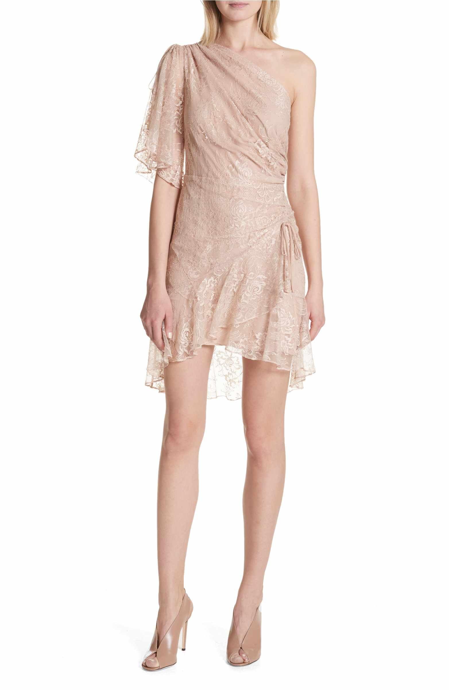 Main Image A L C Misha One Shoulder Lace Dress Dresses Lace Dress Womens Dresses