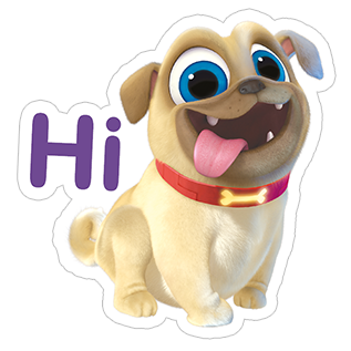 Viber Stickers Puppy Dog Pals Dogs And Puppies 2nd Birthday Party Themes Disney Theme Party