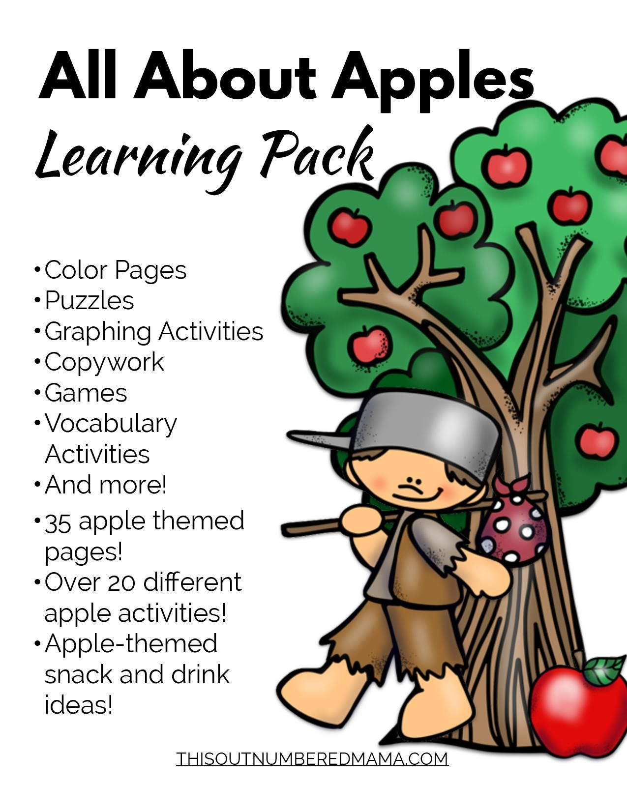 All About Apples Learning Pack | Pinterest | Unit studies ...