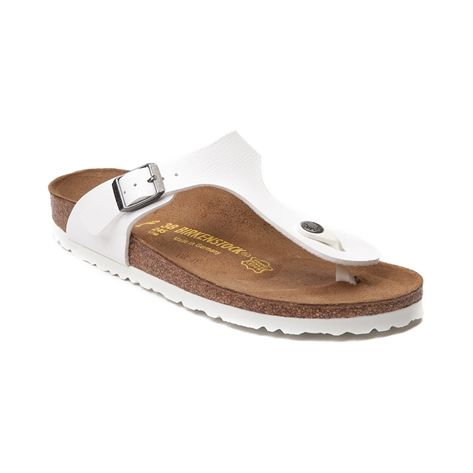 7d90e5e52 Shop for Womens Birkenstock Gizeh Sandal in White at Journeys Shoes ...