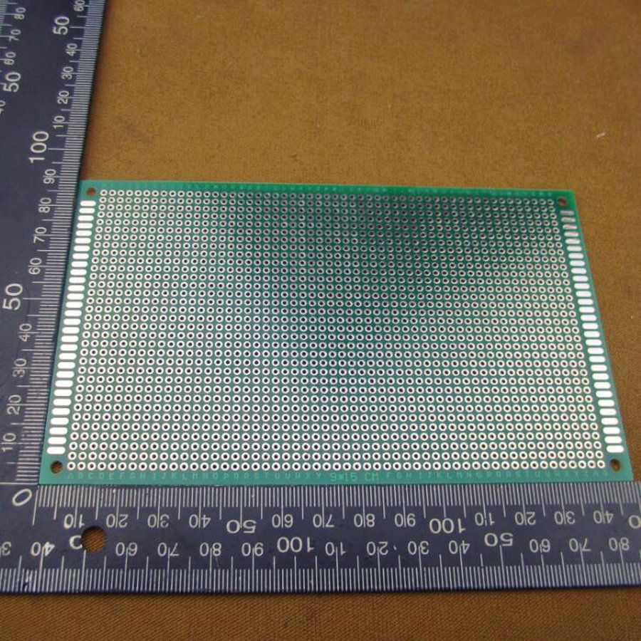 90x150mm 9x15cm Prototype Double-Side PCB Universal Tinned Printed ...