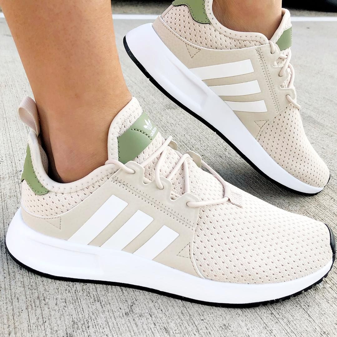 huge discount 88b95 933e9 Featuring racing lines and the famous three stripes, the adidas Originals  XPLR in Clear Brown, White and Trace Cargo is all about relaxed style with  ...