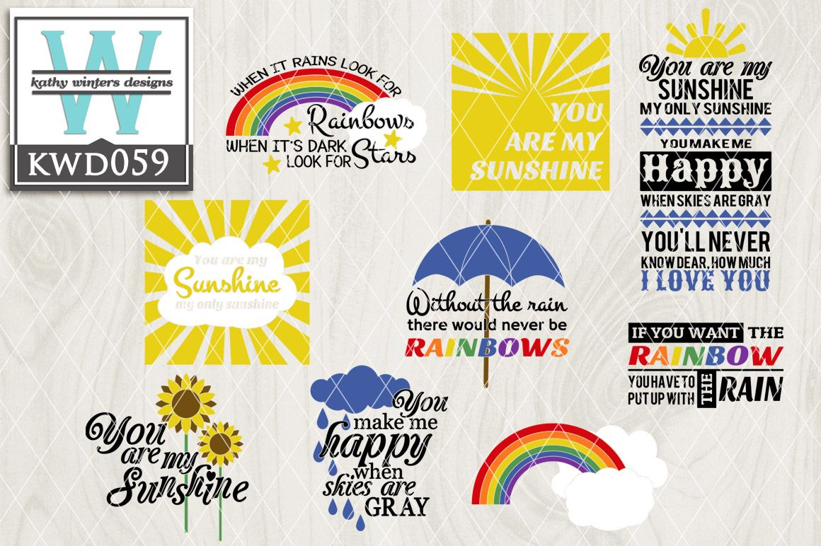Without The Rain There Would Never Be Rainbows And We