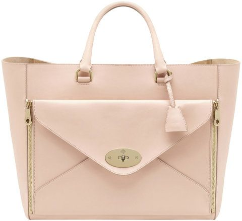 e51b4562e0 Mulberry Willow tote in classic calf featuring removable, zip-off envelope  clutch - $2600