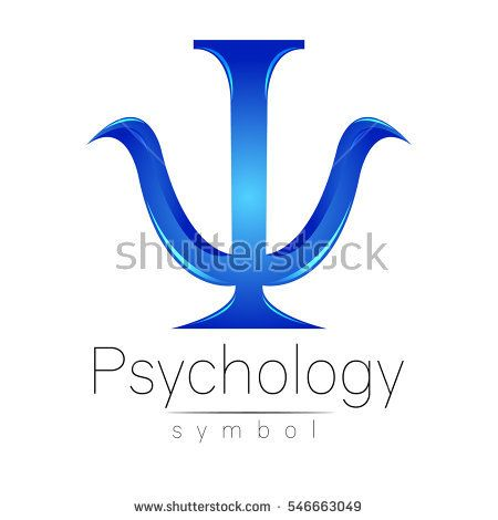 Modern Logo Of Psychology Psi Creative Style Logotype In Vector