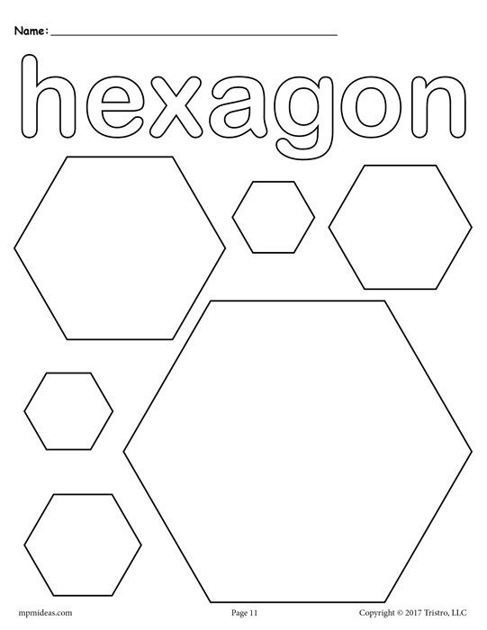 12 Shapes Coloring Pages Shape Coloring Pages Preschool