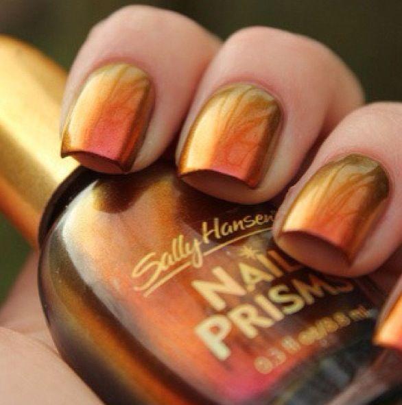 45 Fall Nail Art Designs Ideas You\'ll Love | Nail color designs ...