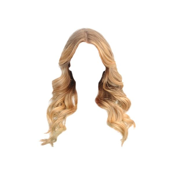 Ordway1s412 Png 400 489 Liked On Polyvore Photoshop Hair Hair Png Blonde Hair Girl