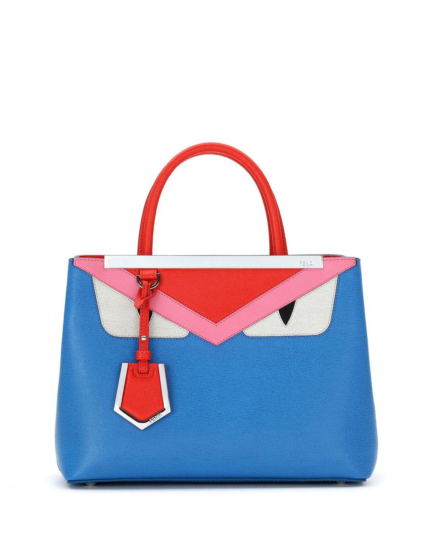0eb658845986 Fendi Monster Petite 2Jours Tote Bag
