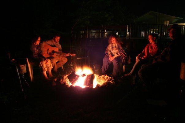Michigan bonfires. At the beach, in the backyard, at the ...
