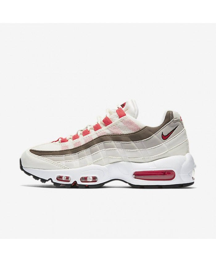 buy popular d44b1 1913f Nike Air Max 95 Womens Og Sail Phantom Light Iron Ore Ember Glow Shoes  Outlet