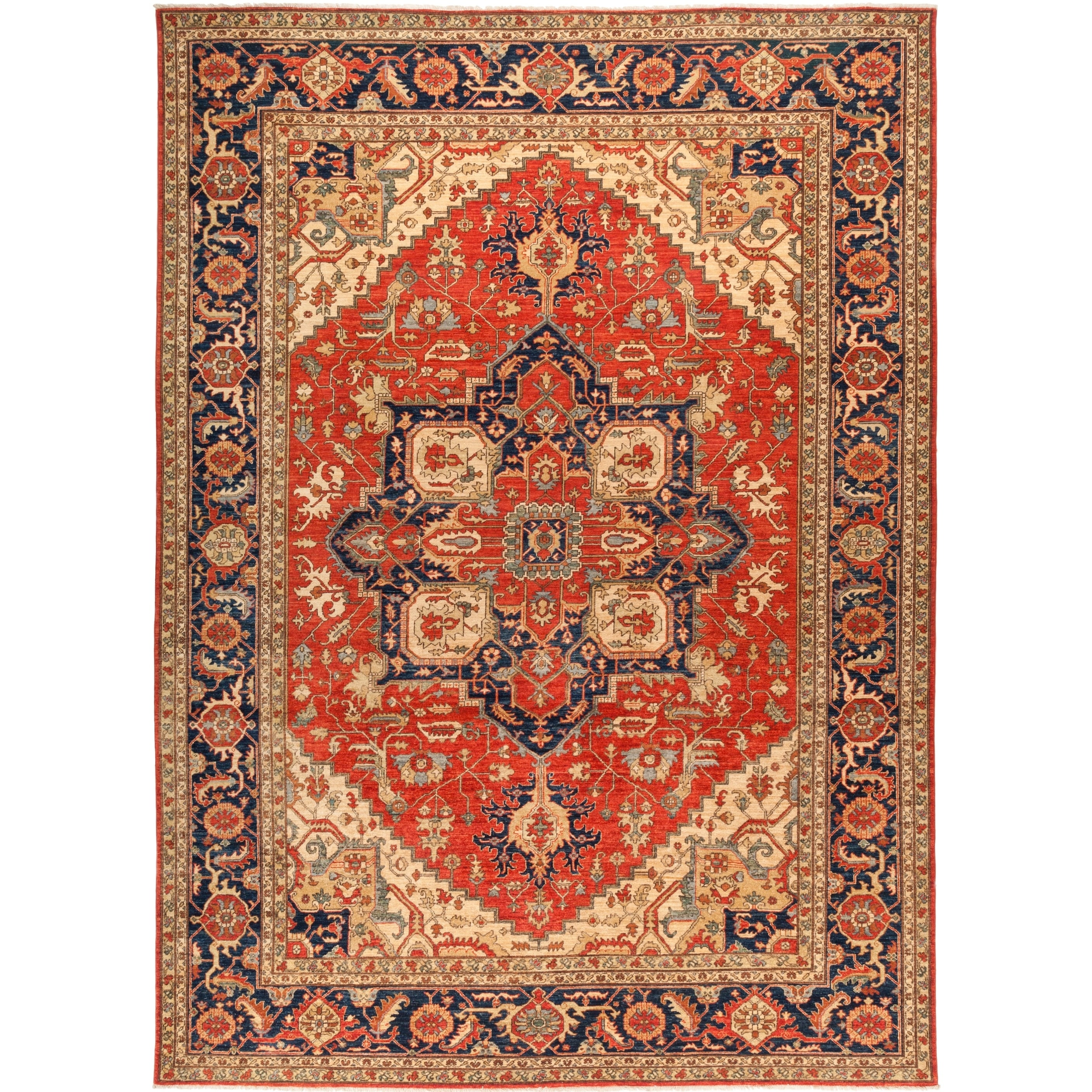 Serapi Classic Red Area Rug 10 4 X 14 3 Red 10 4 X 14 3 Wool Oriental Solo Rugs Rugs Area Rugs