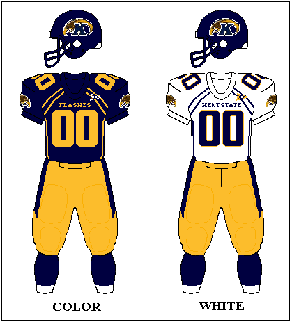 outlet store a26a9 48320 Kent State Golden Flashes Football Team uniforms | Kent ...