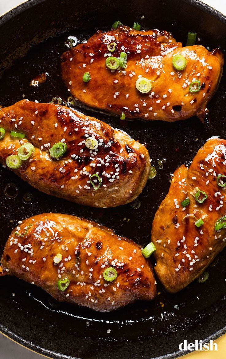 Honey Garlic Chicken Honey Garlic Chicken -