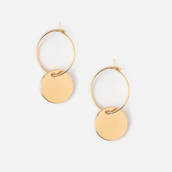 d9a00e52d Shop our Mini Coin Hoop Earrings online at Orelia London. Enjoy free  delivery on orders over £25 to UK & Europe.
