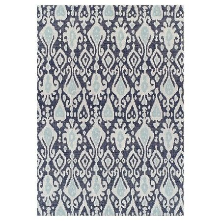 Charmant 5u0027x7u0027 Outdoor Rug   Blue Ikat   Threshold™ : Target