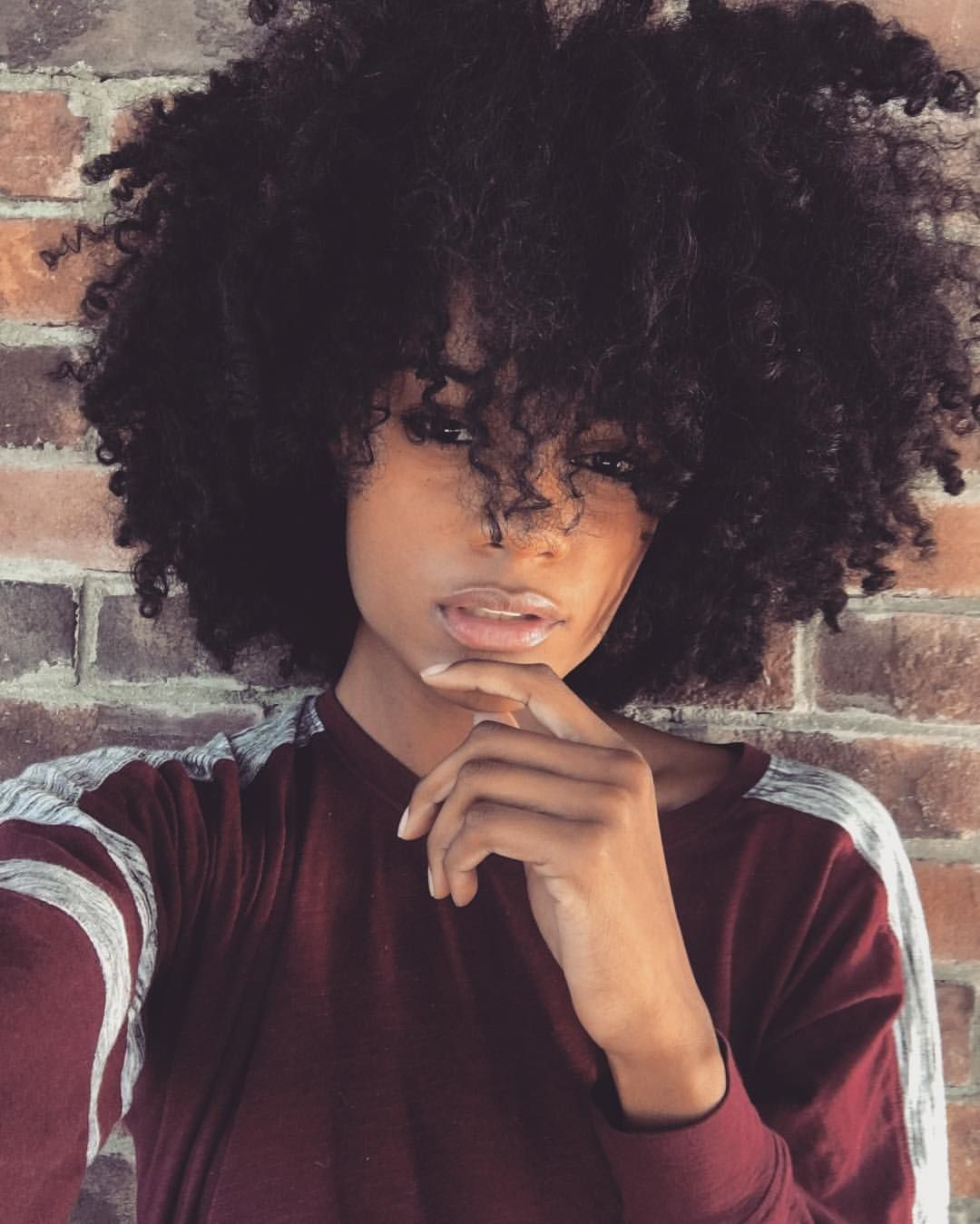 Short Kinky Curly Human Hair Wigs Wig Natural Looking Afro For Black Women Brown