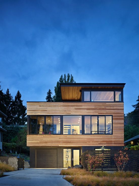 71 Contemporary Exterior Design Photos | Maisons Contemporaines