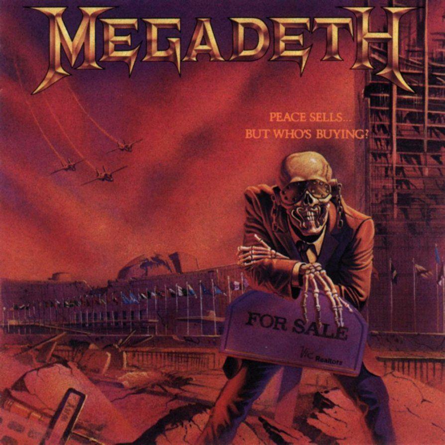 Megadeth Wallpaper 4 By Ozzyhelter Megadeth Albums Rock Album Covers Megadeth