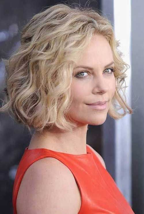 Short Curly Hairstyles For Round Faces 24 Hairstyles Fashion And Clothing Spiral Perm Short Hair Short Hair Waves Short Permed Hair