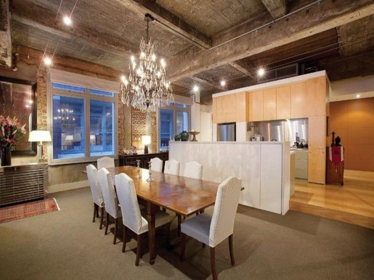 Awesome Warehouse Conversion Dining Room