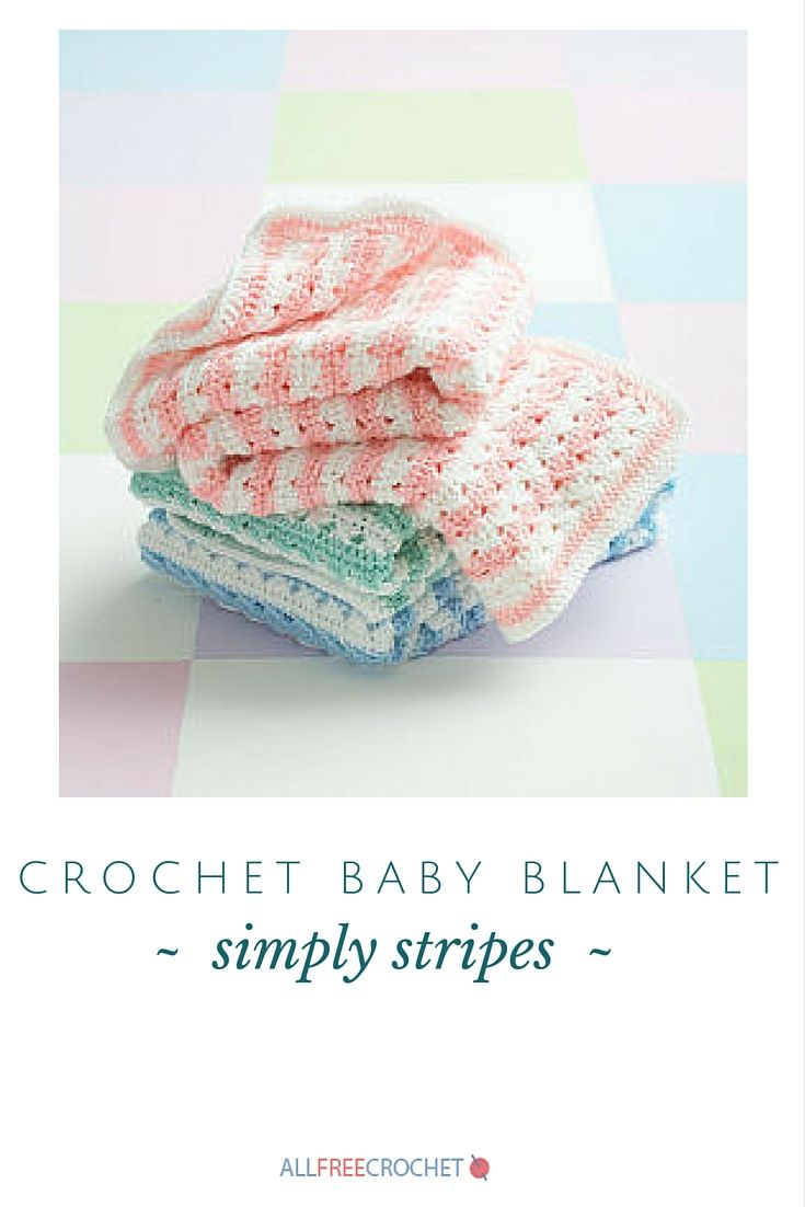 Simply Stripes Baby Blanket