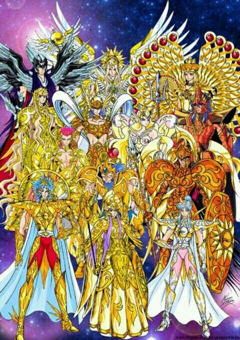 Os deuses do olimpo | Cavaleiros do zodiaco seiya ...